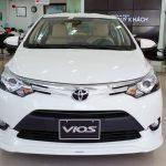 Giá xe Toyota Vios tháng 6