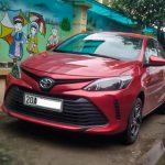 Xe Toyota Vios 'độ' lên đời mới tại Thái Nguyên