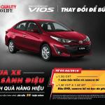 Khuyến mãi Toyota Vios tháng 5/2019