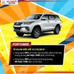 Khuyến mại Toyota Tháng 09&10