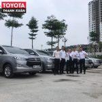 Cập nhật bảng giá xe Toyota tháng 9/2019