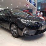 Giá xe Toyota Altis   Altis màu đen 2020