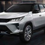 Toyota Fortuner 2021 – Thay đổi diện mạo mới